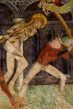 Fresque de la chapelle Saint Sébastien
