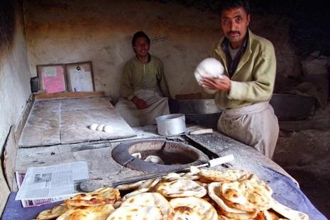 Dans le quartier musulman, on rencontre de nombreux boulangers