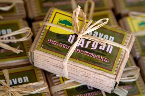 Savon à l'uile d'argan - © www.gregoryrohart.com