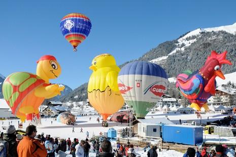 Festival des Ballons de Château-d'Oex - Crédit photo : Fabrice Wagner