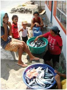Marché d'Ambon, Moluques