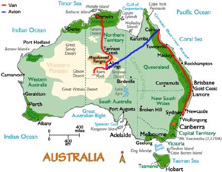 Carte Australie Du Sud Est.Etrange Australie