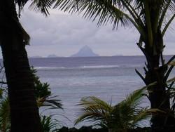 Bora Bora, vue de notre terrasse