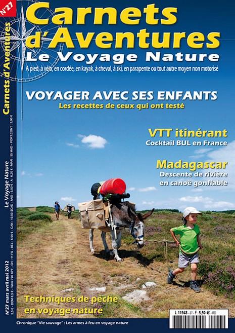 Carnets d'Aventures n°27 : voyager avec ses enfants