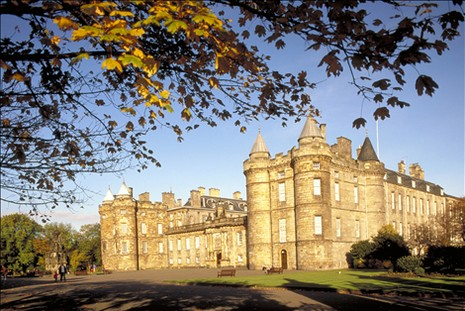 Holyroodhouse Palace d'Edinburgh