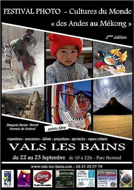 Festival photo cultures du monde Des Andes au Mekong