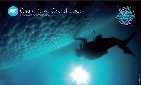 Plonger sous a glace du Groenland © Arctic Circle