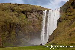 Islande - Skógafoss