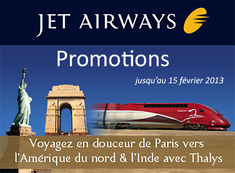 Promotion Jet Airways