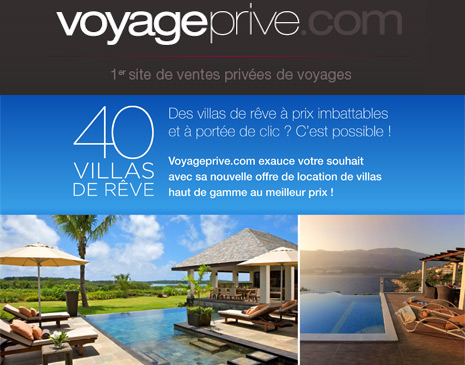 Vente flash Voyageprive.com