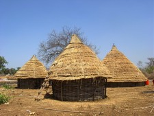 Centre culturel de Bandafassi au Sénégal