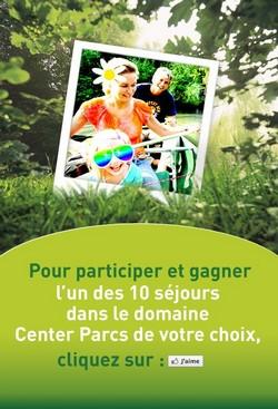 Center Parcs : concours photo sur Facebook