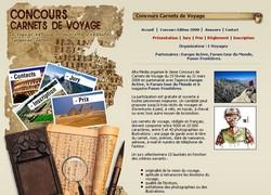 Concours de Carnets de voyage 2008