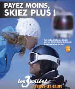 Brides les Bains : le ski lowcost