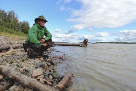 Volodia Petropavlovsky su sa traversée de l'Alaska en canoë