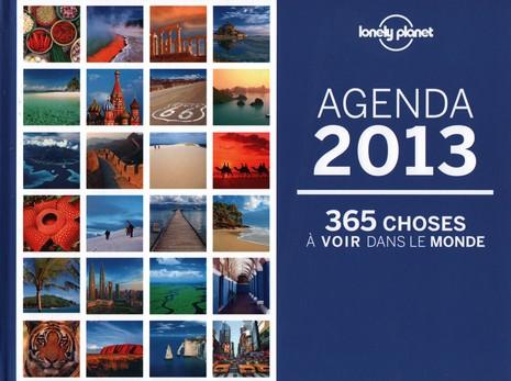 Agenda Lonely Planet 2013