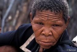 Le jugement rendu aujourd'hui est un coup dur pour les Bushmen. Xoroxloo Duxee est mort de déshydratation en 2005. © Surviva