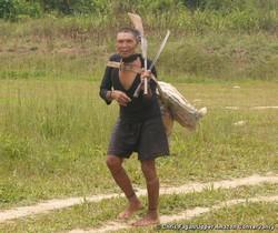 Un Murunahua, contacté par les bûcherons en 1995. La moitié de son groupe a péri suite au premier contact. © Chris Fagan/Upper Amazon Conservancy.