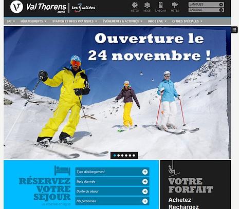 Val Thorens : ouverture des pistes de ski