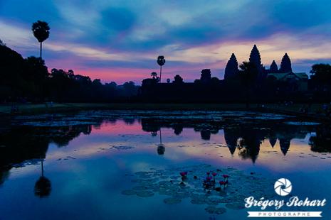 Angkor Vat au lever de soleil