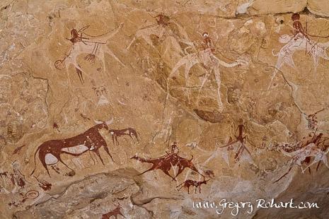 Peintures rupestres de Manda Guéli