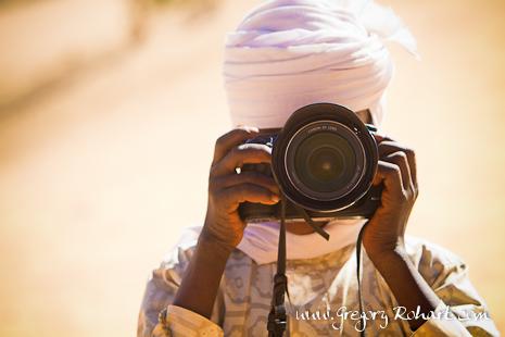 Ali, apprenti photographe