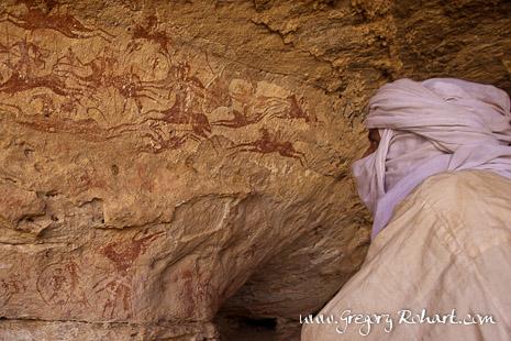 Peintures rupestres de Terkeï