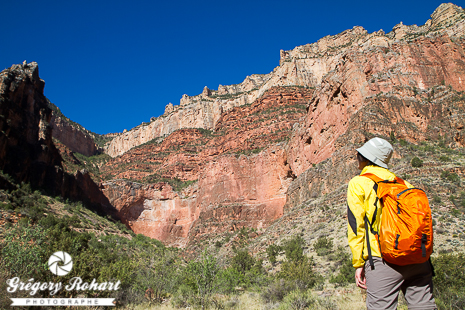 Sur le Bright Angel Trail
