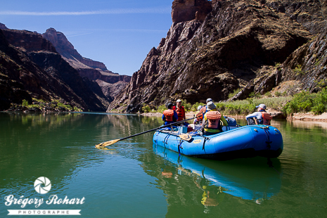 Rafting sur le Colorado - Grand Canyon