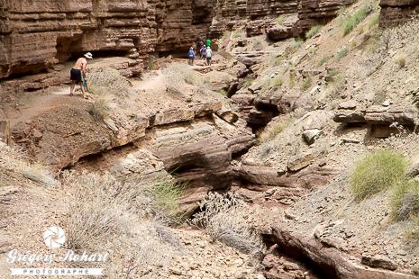 Les Narrows creusés dans la Tapeats Formation