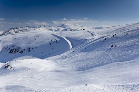 Domaine skiable de Grandvalira à Andorre