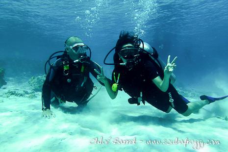 Plongée sous marine à Gili Trawangan