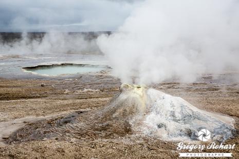 La zone géothermique de Hveravellir