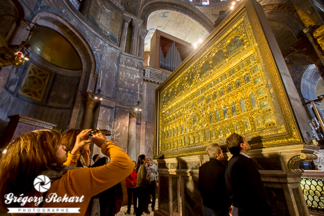 Le fameux Pala D'Oro de la Basilique Saint-Marc
