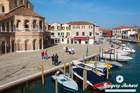 Eglise Santi Maria e Donato et le canal de Murano