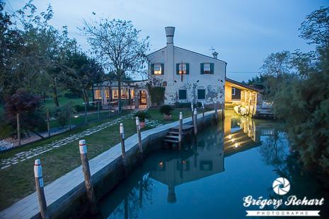 Une des rares habitations de Torcello