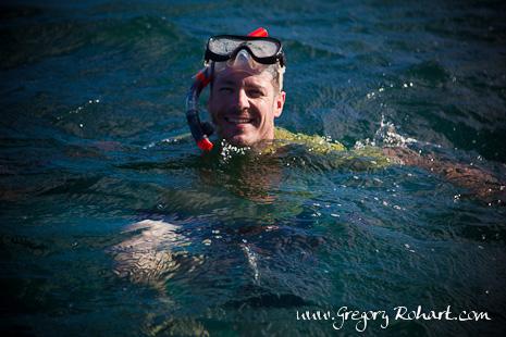 Snorkeling au parc marin de Blue Bay