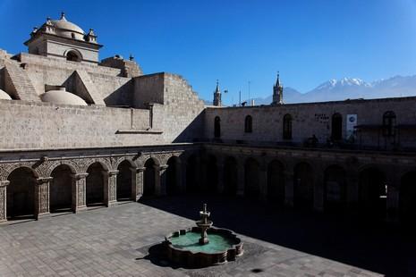 Cloïtre des Jésuites d'Arequipa