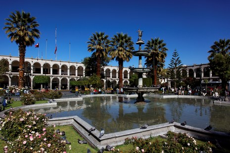 Arequipa : place des armes