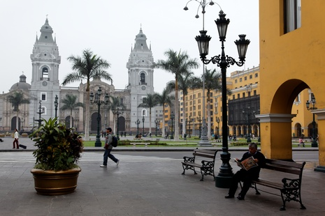 Lima : place des Armes