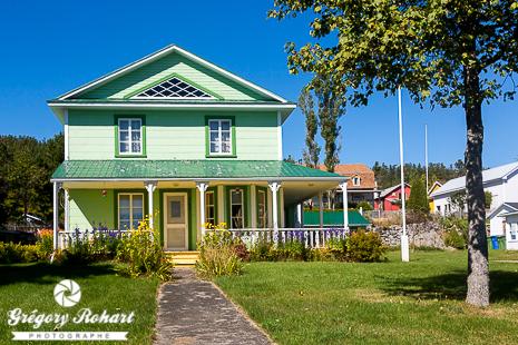 Tadoussac et ses maisons colorées est l'endroit parfait pour une croisière à la baleine