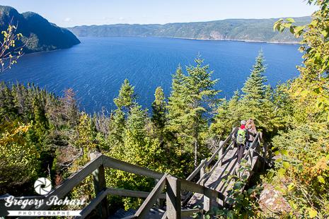 Panorama sur le fjord du Saguenay