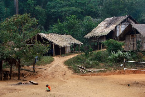 Village Lahu - Jungle Thaïlandaise