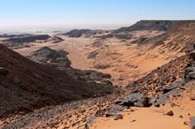 Lisière sud du Gilf el Kebir