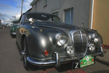 Daimler lors du rallye automobile du Ring of Kerry