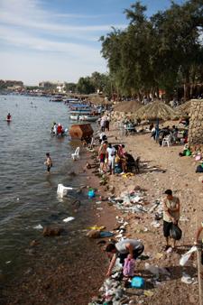Plage publique d'Aqaba