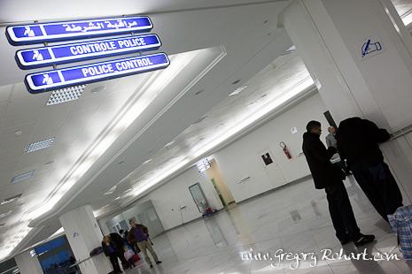 Aéroport de Djerba : le hall de la douane est presque vide