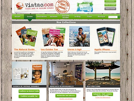 Site internet Viatao