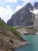 Bord du lac d'Eychauda