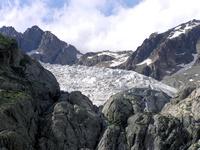 Glacier Blanc depuis le Pré de Mme Carle